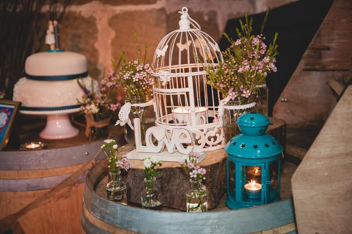 wedding reception at Danby Castle in Yorkshire
