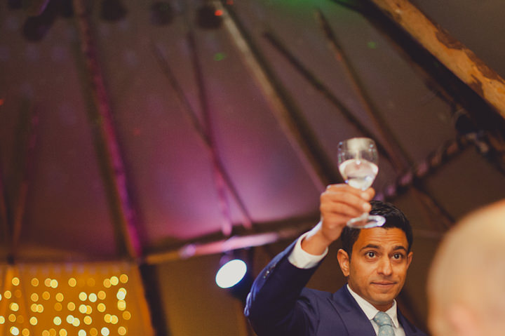 speeches at a tipi wedding