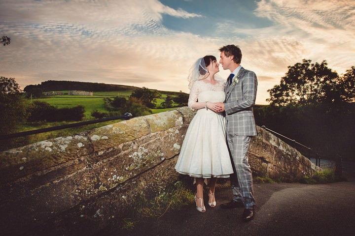 wedding at Danby Castle