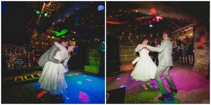 wedding at Danby Castle