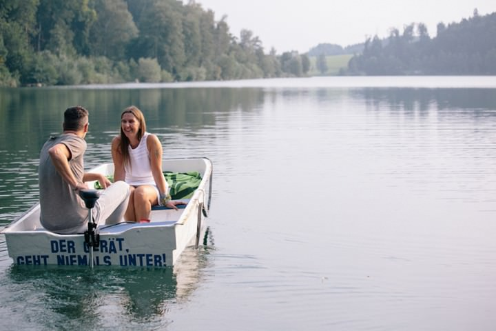 Austrian wedding couple