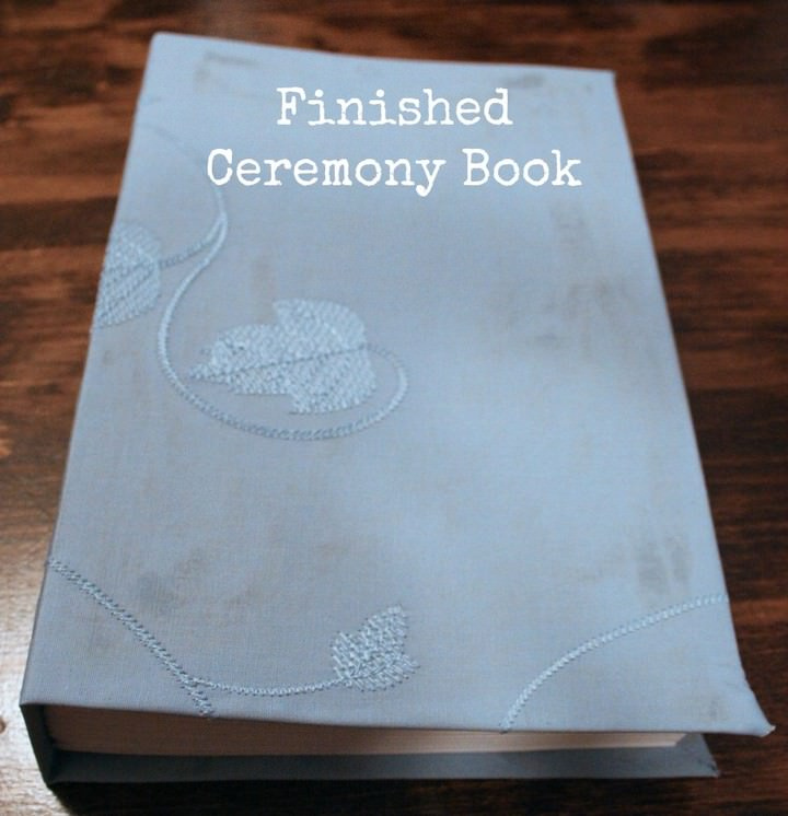 DIY Ceremony Book