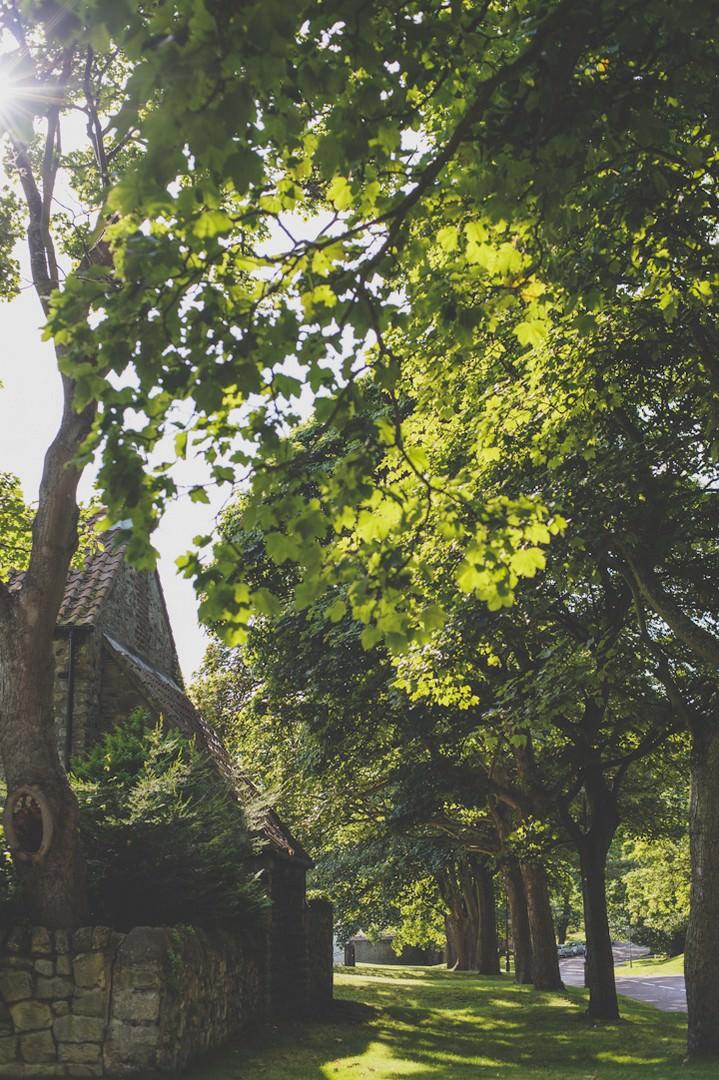 Whitburn Parish Church near Sunderland
