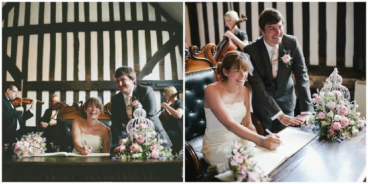 wedding ceremony at Guildhall, Leicester
