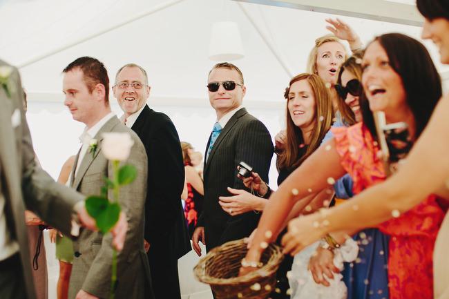 wedding ceremony on the Amalfi Coast Italy
