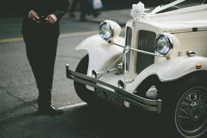 Summer fete wedding in leicester by sam docker boho weddings wedding car junglespirit Choice Image