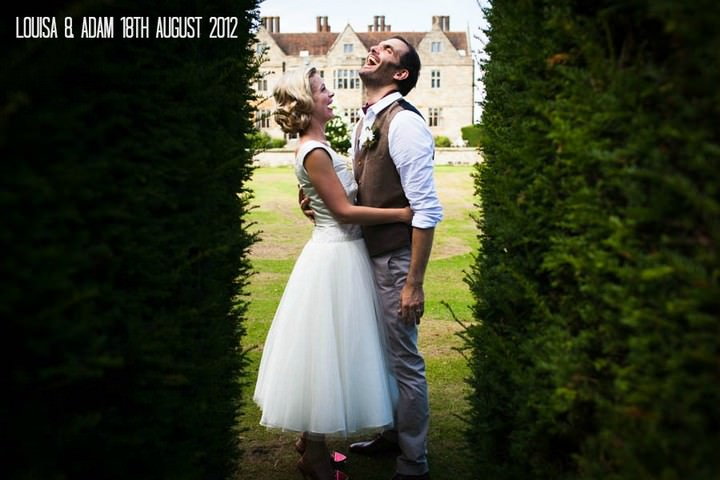 950s Afternoon Tea Party Wedding by Steve Fuller .