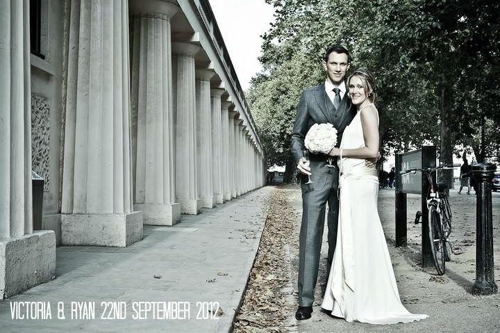 Modern London Wedding by Elly Mac