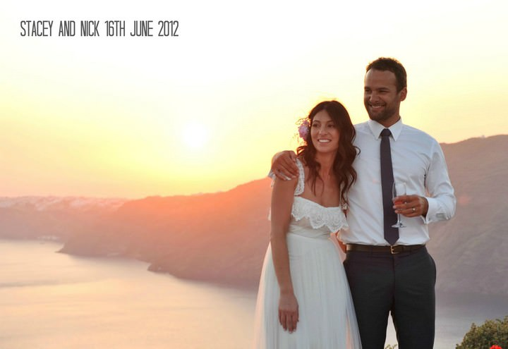 un Set Santorini Wedding by Trim Photography