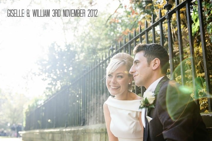 Winter Wedding with Accents of Aubergine by Tux and Tales