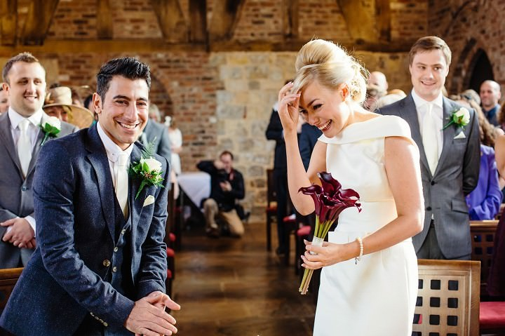 Giselle and William\'s Winter Wedding with Accents of Aubergine by ...