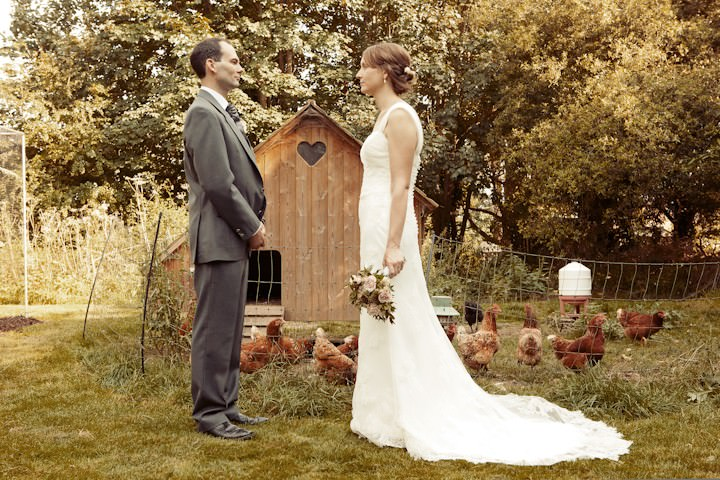 somerset wedding couple