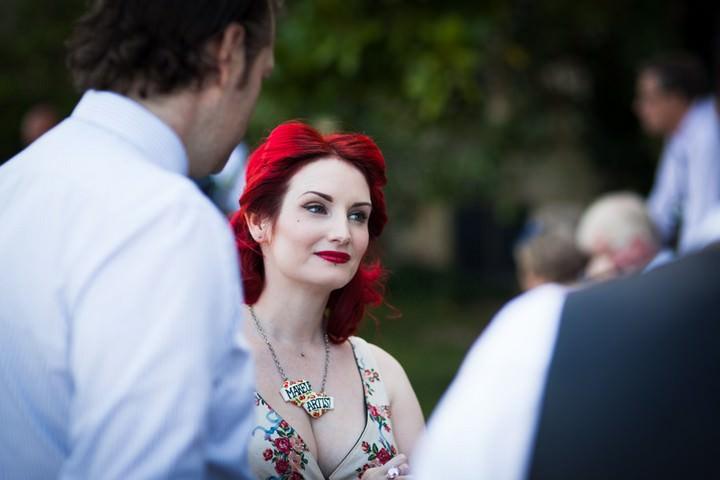tea party wedding reception at Somerhill Estate in Tonbridge