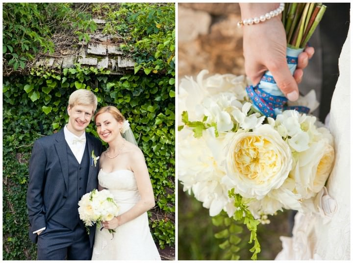 Outdoor Wedding in Pennsylvania by Sweet Water Portraits