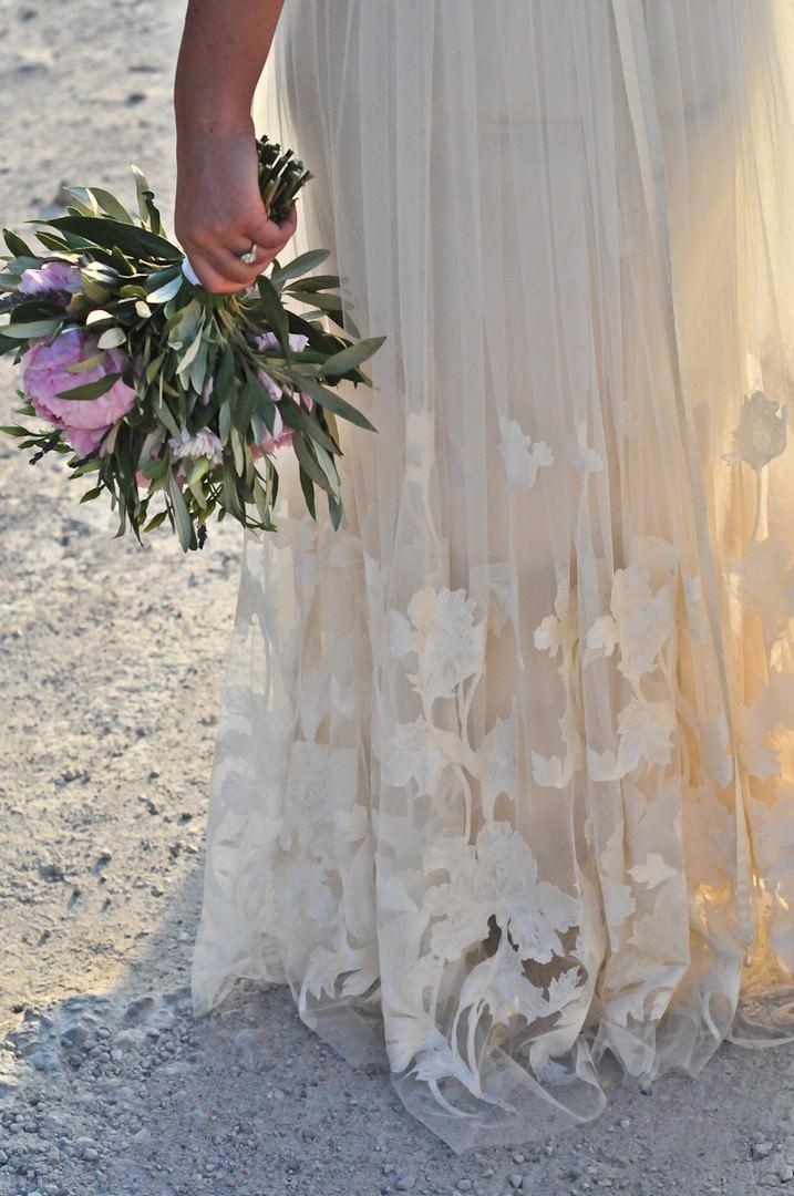 Sun Set Santorini Wedding by Trim Photography
