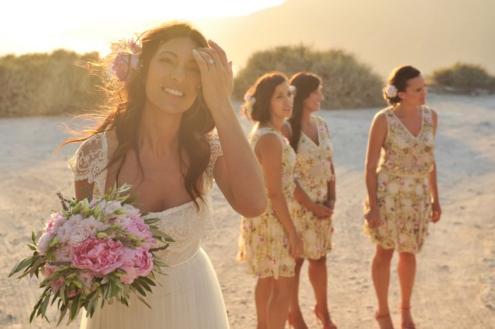 un Set Santorini Wedding by Trim Photography