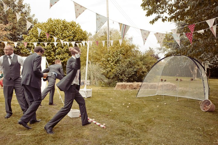 Village Fete Wedding reception
