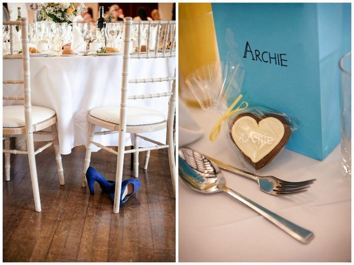 Yellow and Blue Garden Party Wedding by Tino and Pip