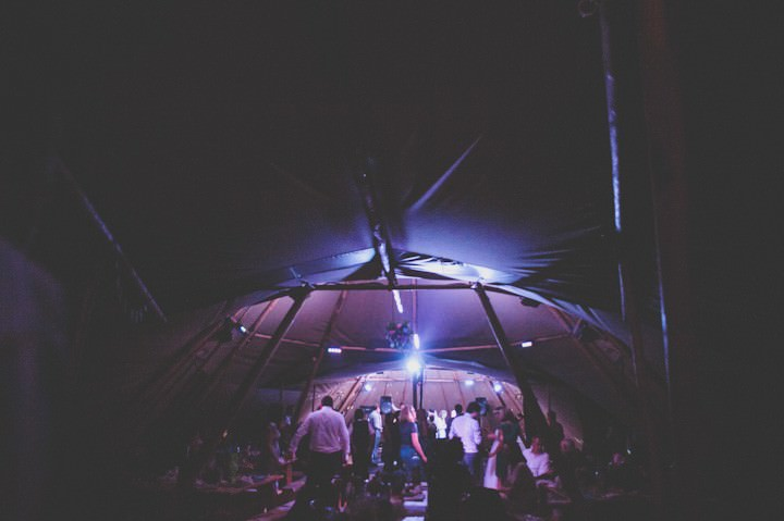 Jennifer and Stephen's Magical Tipi Wedding by Photos by Zoe