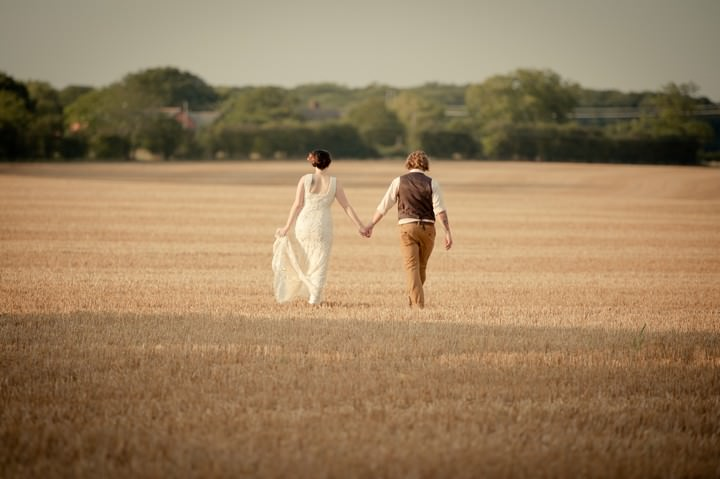 Thomas and Naomi's DIY Wedding Filled with Skateboards and Hay Bales By Ben Bull
