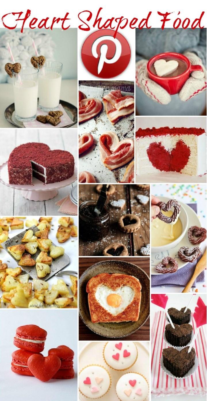 Boho Pins - Heart Shaped Food