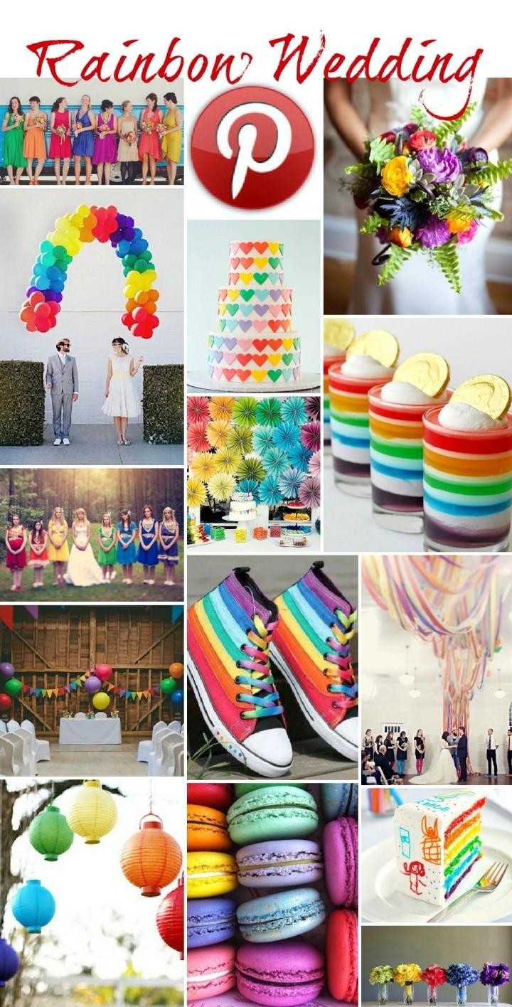 Boho Pins - Rainbow Weddings