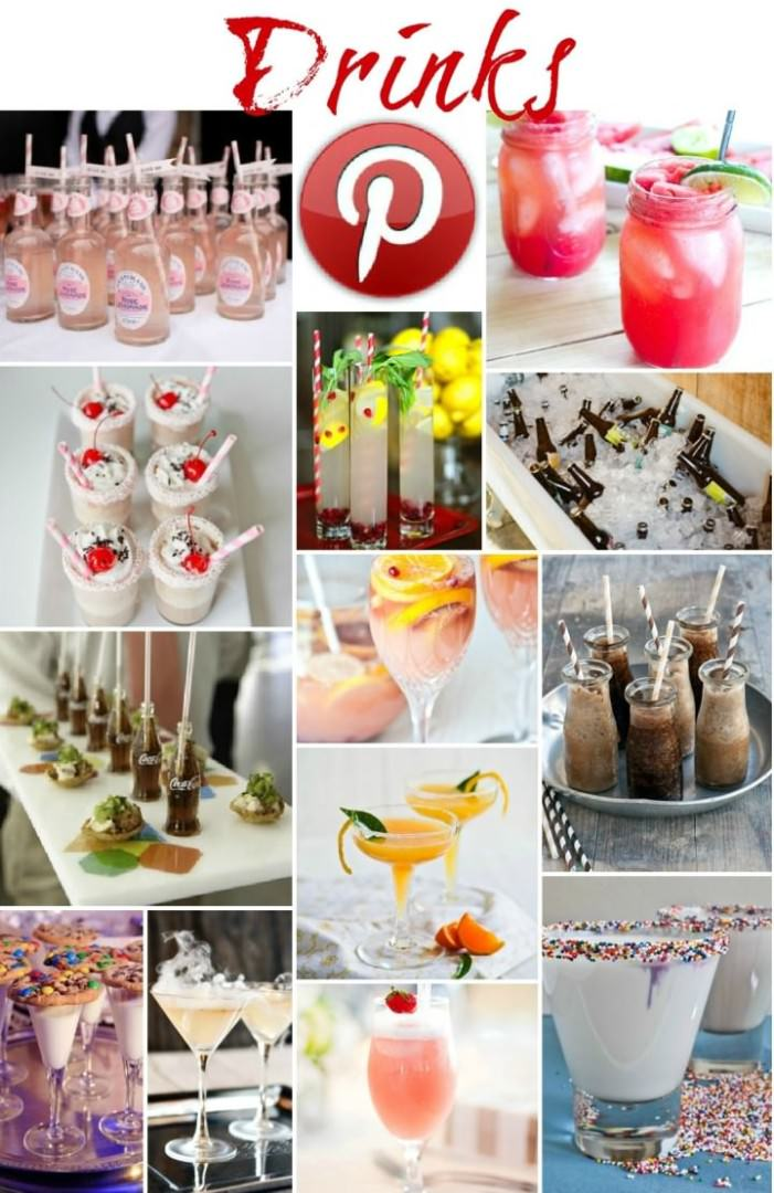 Boho Pins - drinks