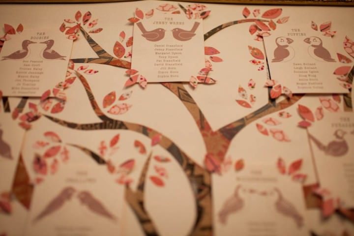 Toast Wedding Photography Table plan