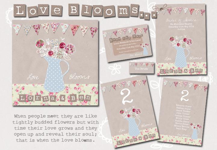 Sarah Wants - love blooms