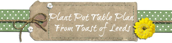 plant pot table plan