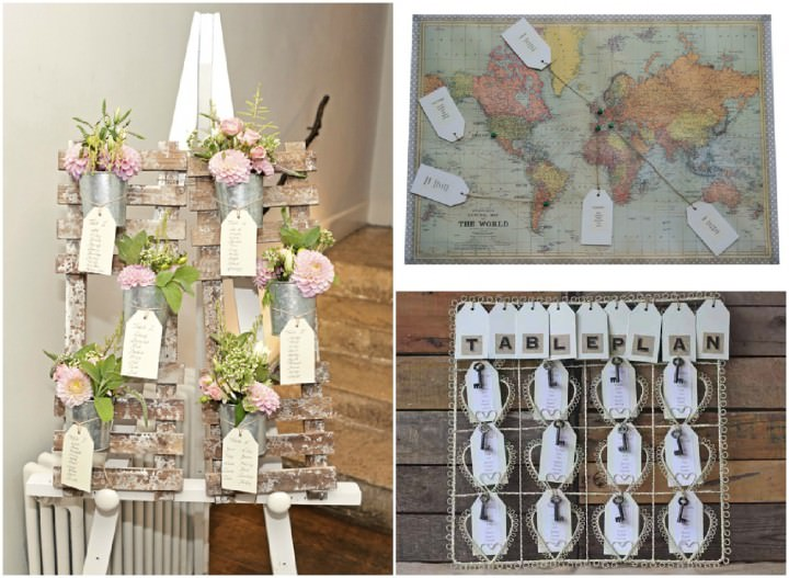 the wedding of my dream - table plans