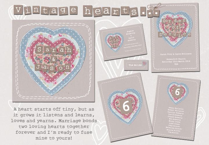 Sarah Wants - vintage heart