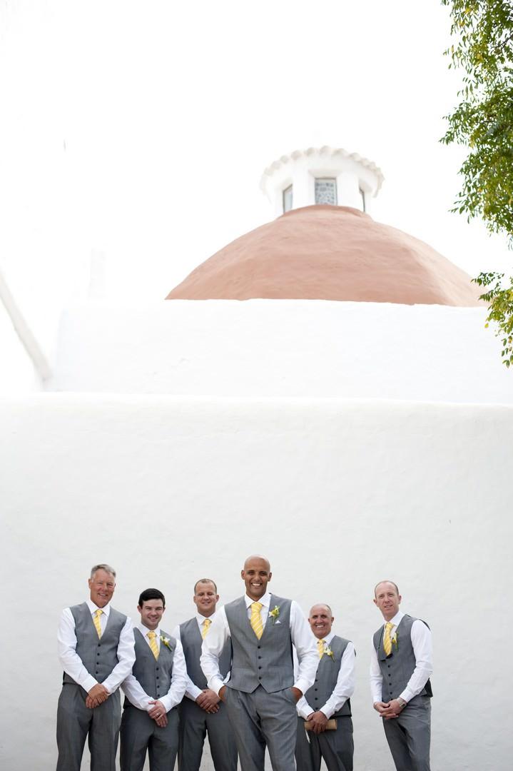 groomsmen in Ibiza