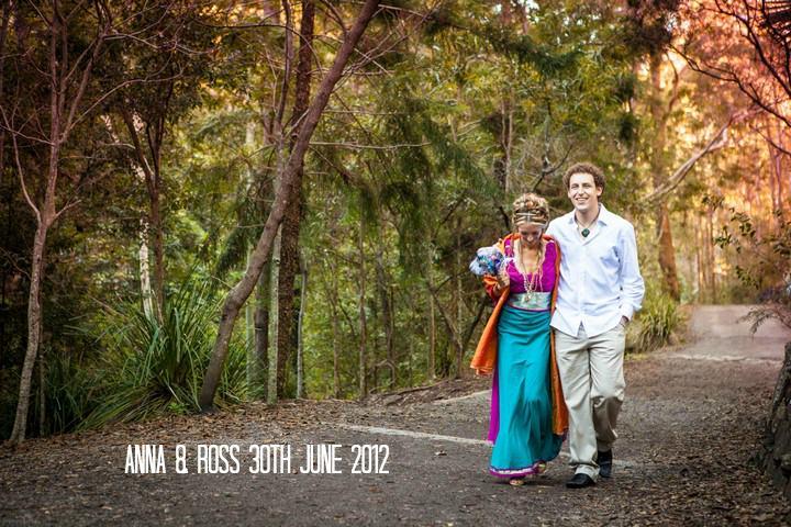 Eco Friendly Eclectic Wedding Day With Plenty of Spiritual Energy