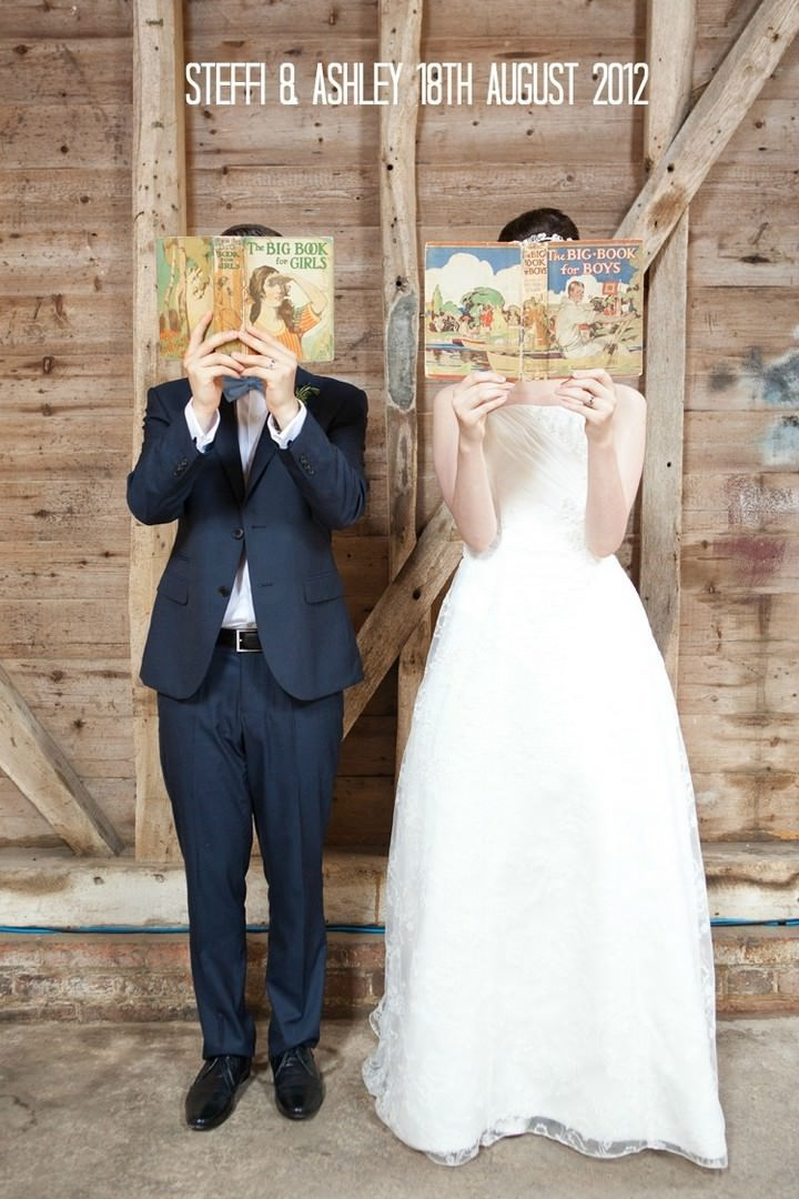Book Themed Wedding in Berkshire