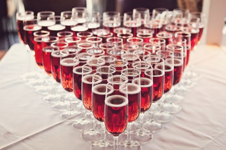 wedding drinks at a Chester wedding