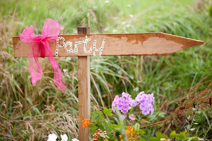 North Devon Country wedding reception