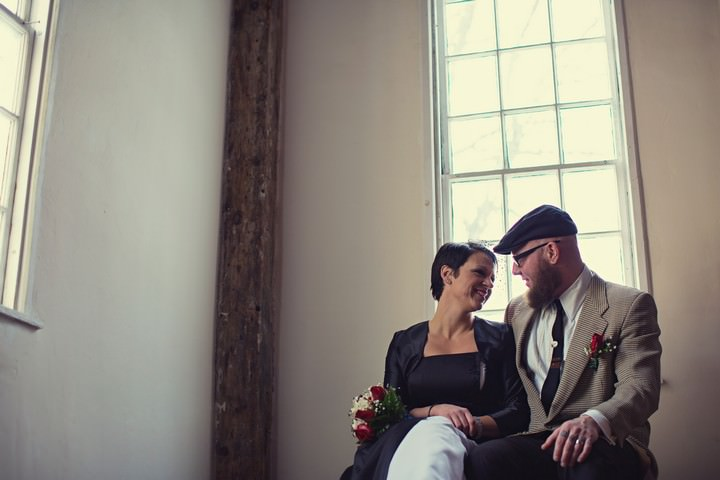 Rhode Island wedding couple