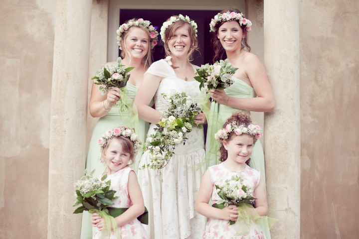 DIY Boho Style Country Wedding. By Helen Cawte