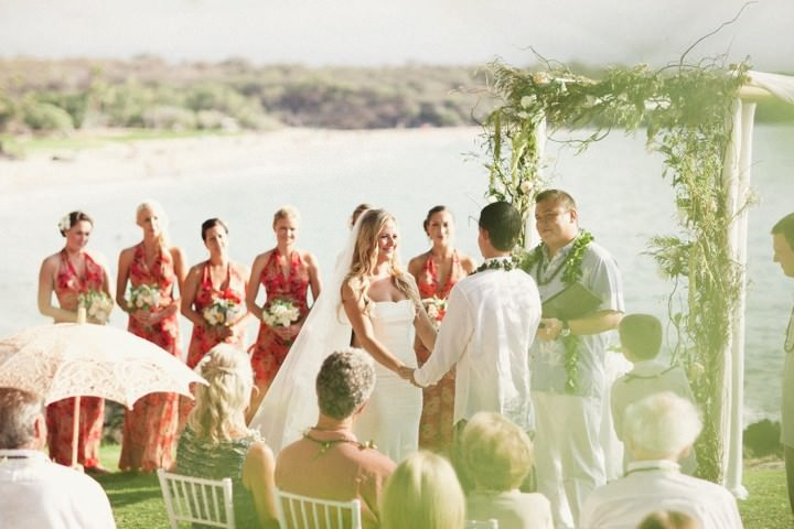 Hawaiian Wedding by Ruth Anne Photography