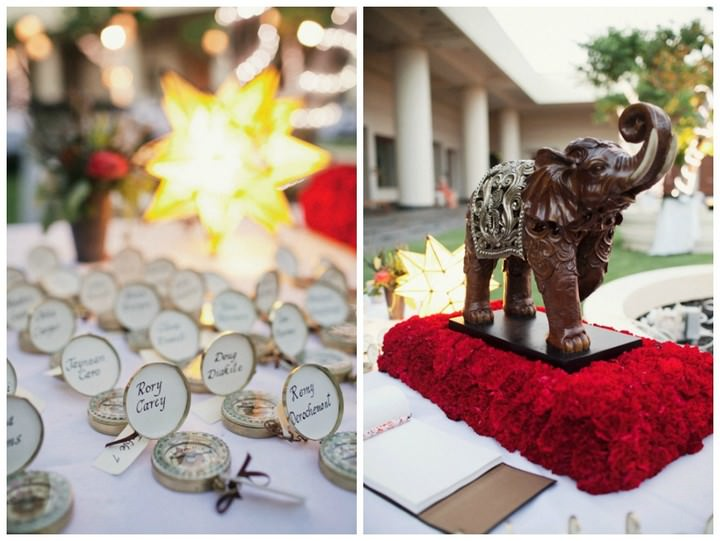 Hawaii wedding reception at Hapuna Prince Resort