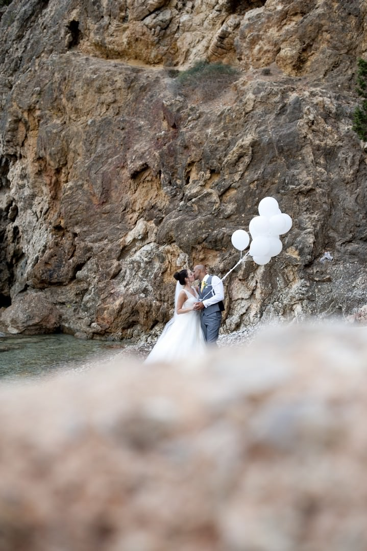 36 Sunshine Yellow Ibiza Wedding by Ana Lui