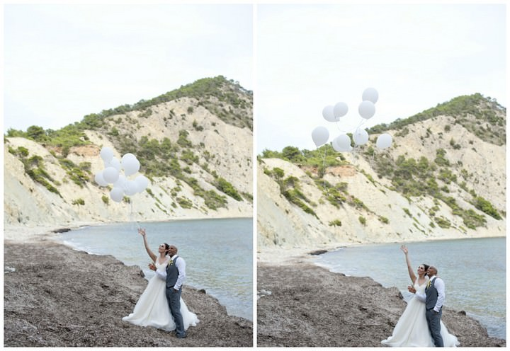 37 Sunshine Yellow Ibiza Wedding by Ana Lui