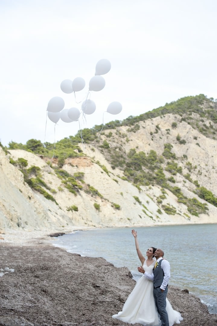 38 Sunshine Yellow Ibiza Wedding by Ana Lui