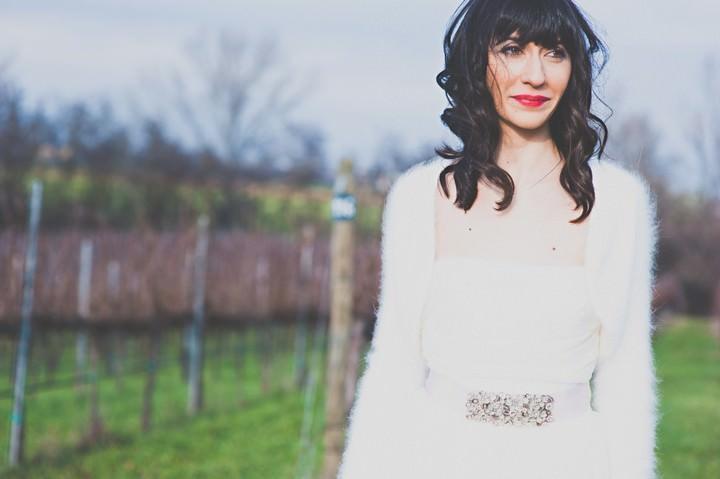 Italian Wedding with a Max Mara Wedding Dress