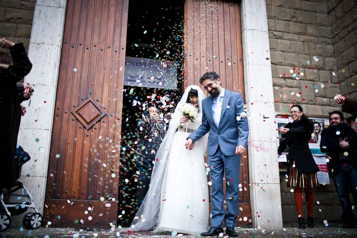 Italian Wedding with a Max Mara Wedding Dress