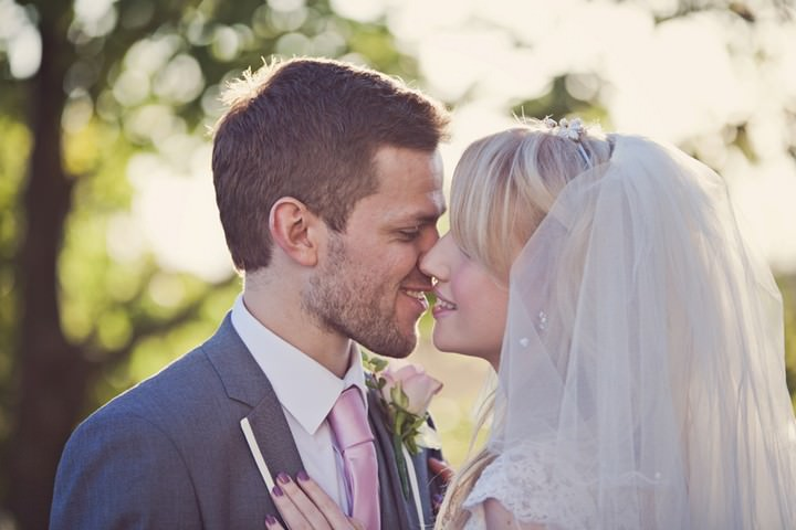Pretty Pink Chester Wedding by Claire Penn