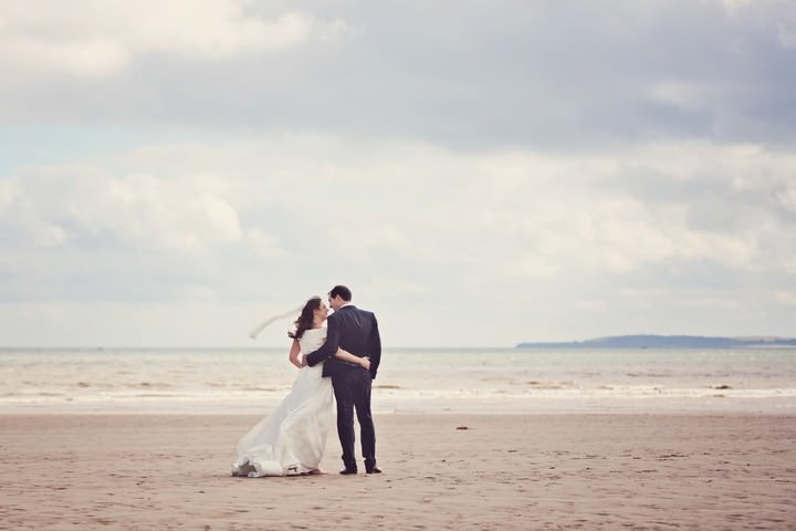 Shabby Chic Glam Wedding with a Trip to the Beach. By Claire Penn