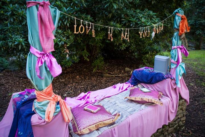 Spiritual Wedding Ceremony area
