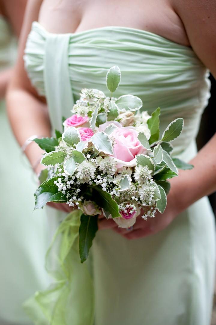 pale green bridesmaids